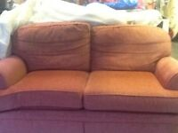 2 seater Mark&Spencer sofa used but in good condition.