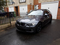 2008 BMW 330D E92 COUPE M SPORT AUTO FLAPPY PADS NOW FULLY REPAIRED **BARGAIN**
