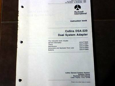 Collins DSA-220 Dual System Adapter Service Manual