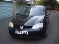 Low Milage Black VW Golf Turbo Diesel DSG Excellent Runner Good Engine and Gearbox