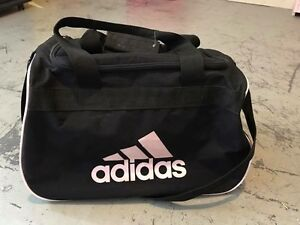 Adidas gym bag light pink logo