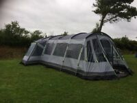 OUTWELL MONTANA 6p + front awning, footprint and outwell carpet