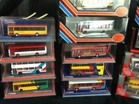 Model buses Corgi and efe