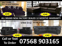 SOFA BEST OFFER BRAND NEW LEATHER SOFAS FAST DELIVERY 42