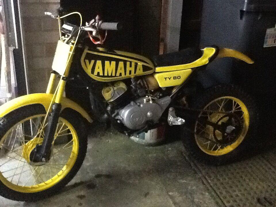 Yamaha ty80 trials bike in bedworth warwickshire gumtree for Yamaha trials bike