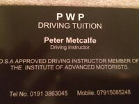 Pass With Pete Driving Tuition friendly, reliable instructor, excellent first time pass rate