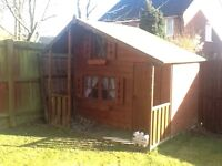 Wendy house 2 storey large with verandah
