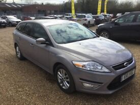 FORD MONDEO 1.6TDCI ZETEC ESTATE - PERFECT FAMILY CAR - FULL SERVICE HISTORY - 12 MONTHS WARRANTY
