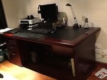 Office desk, filing cabinets and credenza Belmont North Lake Macquarie Area Preview