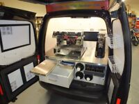 High Spec 2014 VW Caddy Mobile Barista Coffee Van For Sale due to ill health £30,000 (ono)