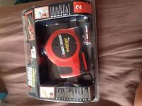 new Black and Decker tape measure