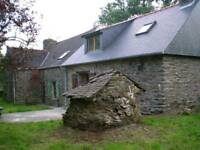 Farmhouse barn conversion in Brittany France for sale