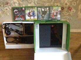 Xbox One Console with 4 Games