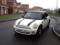 07 PLATE MINI COOPER 1598cc VERY LOW MILEAGE ONLY 63k FULL SERVICE HISTORY 1 FORMER OWNER FROM NEW