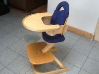SVAN premium quality highchair-superb product for 9mths upto young adult and converts to a barstool