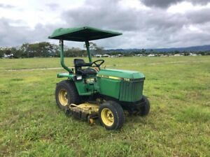 John deere 755 tractor with 5ft mid mount Mullumbimby Byron Area Preview