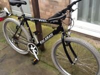 £45 concept bike 26 wheel 20 frame 21 gears in great condition can deliver for petrol lovely bike