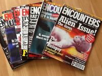 Twelve encounters magazines from 1995 to 1996 first 12 copies