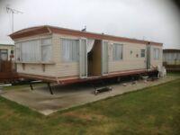 caravan for rent at St Osyth's near clacton on sea