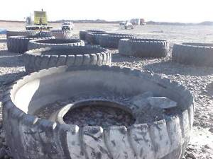 FREE! Scrap Earth Moving Tyres!! Rocklea Brisbane South West Preview