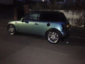 ***2002 Mini 1.6 ,Slight mods, Mot ,17 Crosspoke Alloys ***
