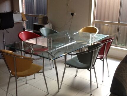 6 seater dining table and chairs Pakenham Cardinia Area Preview
