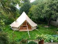 4m Bell tents for sale.