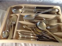 Silver Plated 8 place Cutlery Service