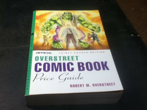Official Overstreet Comic Book Price Guide Thirty Fourth Edition 34th Used