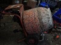 Belle barrow mixer (electric motor)