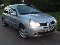 Renault Clio 3. Door. 1.2. Cc. 05. Reg. 10. Months mot.