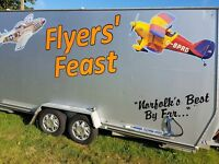 For sale is my Catering trailer, in vgc & ready to go, pitch now established in Norfolk