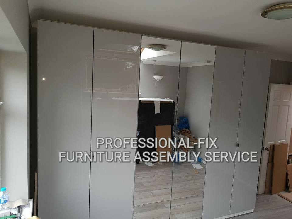 Flatpack Furniture Assembly Service  Ikea PAX wardrobe