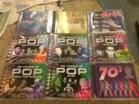 9 various artists cds
