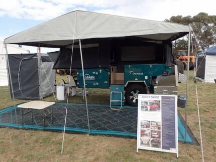 Eagle Cherokee Forward Folding OFF ROAD Camper