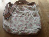 Cath Kidston floral messenger bag