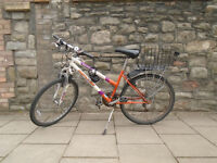 second-hand lady sporty city bike