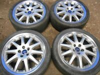 "18"" FORD MONDEO ALLOY WHEELS - TRANSIT CONNECT"