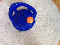Safety 1st baby swivel bath seat in blue - excellent condition