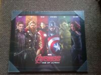 marvel avengers assemble age of ultron framed picture brand new