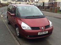 MPV People carrier 7 Seater LPG Gas Converted Renault Grand Espace very spacious cheap 7 seater