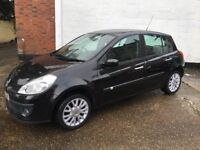 Renault Clio Dynamique Turbo 100, 1.2ltr 2008 covered only 42934 Miles long mot and freshly serviced