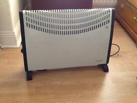 Portable lightweight electric heater