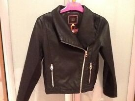 Stunning Ted Bake biker jacket - age 8/9 - brand new