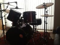 Ludwig Drum Kit with Sabian Cymbals