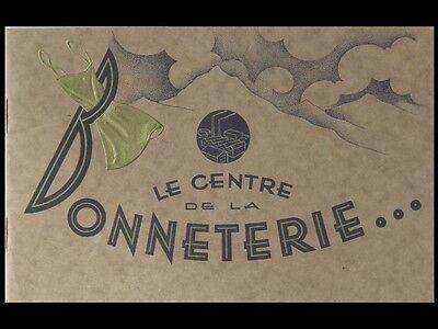 1930 FRENCH WOMEN FASHION BROCHURE - UNDERSKIRT, PETTICOAT