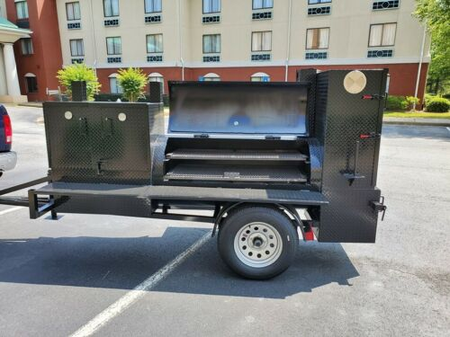 Pitmaster BBQ Grill Smoker Trailer Catering Business Mobile Kitchen Food Truck