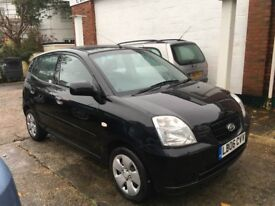 Kia Picanto LX 5 door 1.1ltr model 2006 lovely condition inside and out