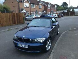 BMW 118d Sport Convertible 2011 - FSH