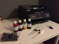 Espon heat transfer sublimation printer